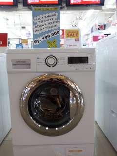 Mesin Cuci Daewoo bisa di kredit tanpa kartu kredit