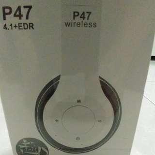 🚚 P47藍牙耳機