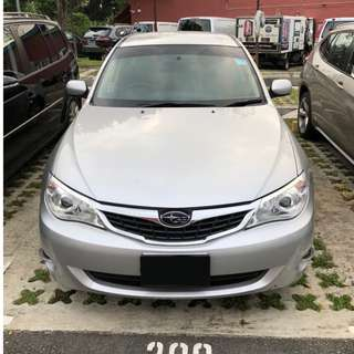 Subaru Impreza Hatchback - Rental