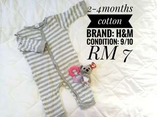 Sleepsuit h&m 2-4 months