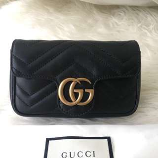Gucci super mini marmont