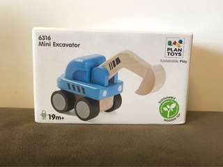 Wooden Digger toys (brand new)