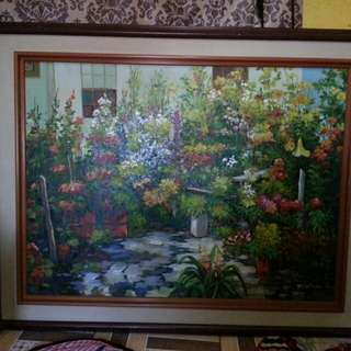 Beautiful wall painting for sale or swap