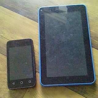 Alcatel Pixi / powerfast tablet