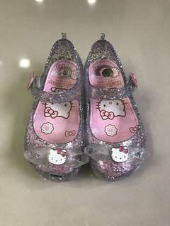Hello Kitty Toddler Baby Girl Jelly Shoes