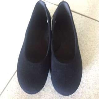 🚚 無印良品 黑色 平底鞋