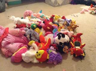 Collection of beanie kids