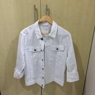 Oversized White Jacket