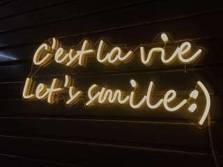 Neon wall lighting home deco art designer