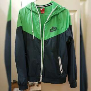 Nike Green Windrunner