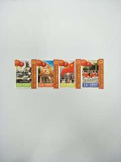 Macau stamps 60th Anniversary