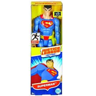 "DC Comics Justice League Action Superman 12"" Posable Figure BRAND NEW IN BOX"
