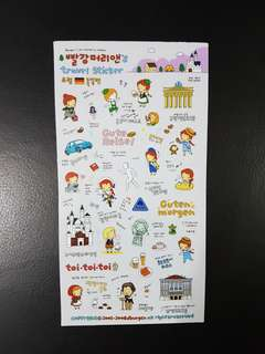 BN Germany Travel Stickers