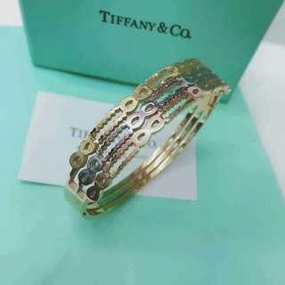 Tiffany & Co. Three tone Bangles