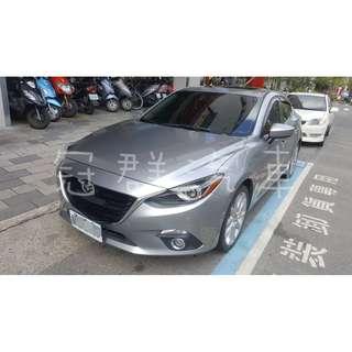 2015年 魂動馬三 4門款 銀色 頂級 喜歡加我賴 qwe850412
