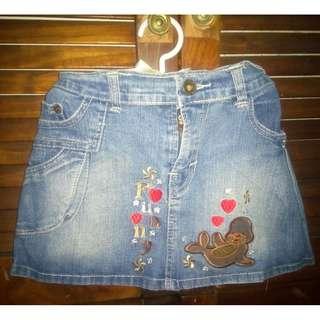 Mini skirt Denim / Rok Mini Jeans