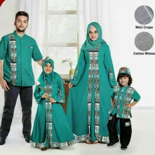 Paket Keluarga Muslim Sarimbit Keke