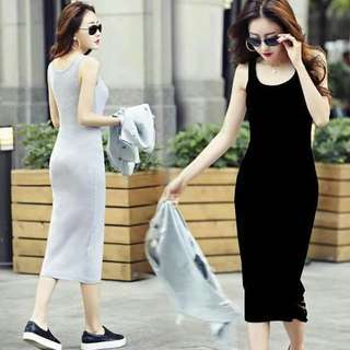 Long Plain Dress
