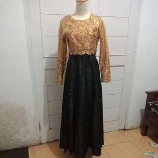 new dress muslim brukrat gold