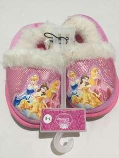 New Disney Princess Pink Bedroom Slippers