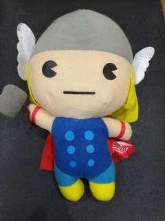 Thor plushie keychain