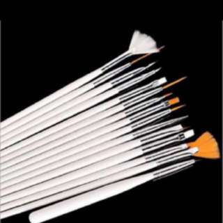 Nail Art Design Pen Painting Brush Set! 15 Pieces!