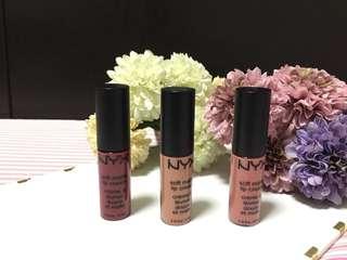 Bundle #7 Nyx Matte Lip Cream (mini)