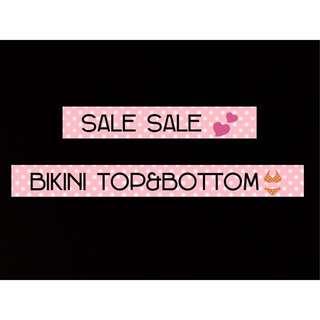 Bikini top&bottom