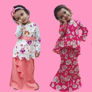 Kurung Peplum for Kids