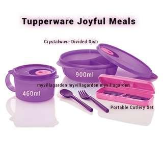 Tupperware Joyful meals set