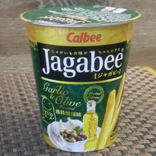 Jagabee香蒜橄欖味薯條