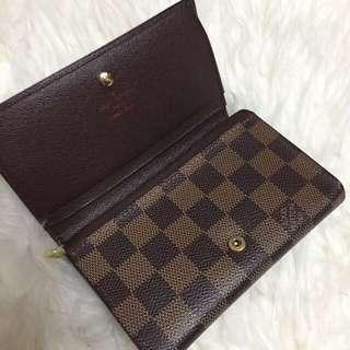 LV Damier Wallet
