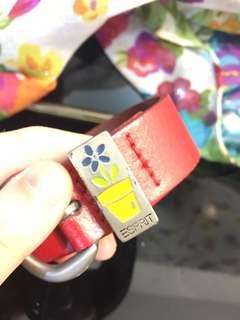 小童皮帶Belt for kids from Esprit