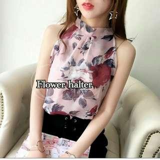 flower halter