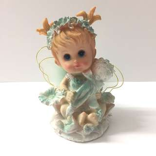 Ceramic figure fairy girl