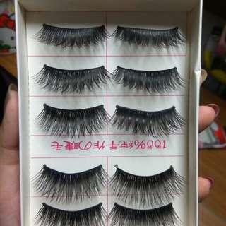 Fake eyelashes 30k