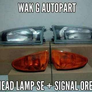 Head Lamp Wira