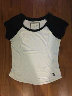 #IDoTrades Abercrombie and Fitch Raglan Crop Top