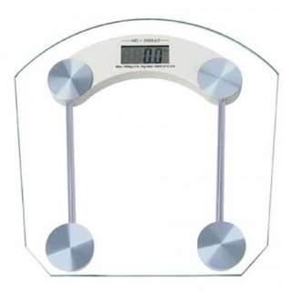 PREORDER Basis:  Digital LCD Electronic Tempered Glass Bathroom Weighing Scale (For the Health Buffs)