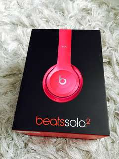 Hot Pink Beats Solo 2 BRAND NEW