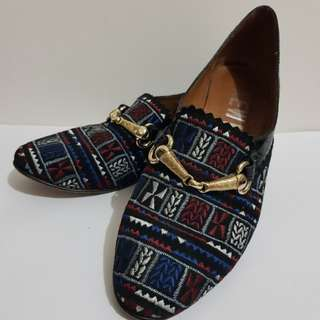 Newkid embroidered loafers