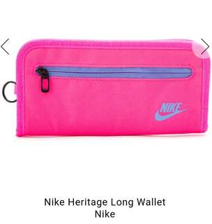 Authentic Nike Heritage Long Wallet