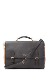 Burberry Leather Messenger