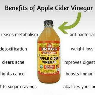 Cuka apel Bragg Apple Cider Vinegar
