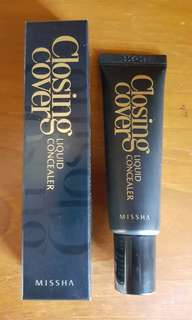 Missha Closing Cover liquid concealer