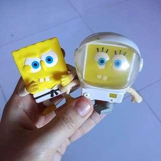 Spongebob collectible toys