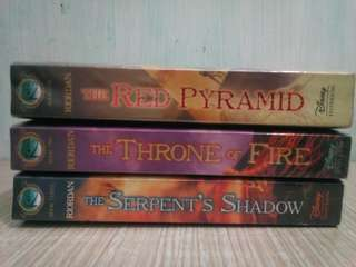 The Kane Chronicles Series