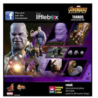 HOT TOYS 1/6 SCALE AVENGERS: INFINITY WAR THANOS MMS479