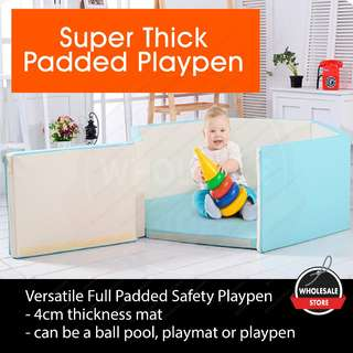 (Safety Bear playpen) Full Padded Bumper Play Yard/ Play Pen/ Playpen / baby bed / newborn bed / bedguard
