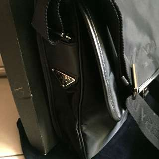 Prada Messager Crossbody Bag